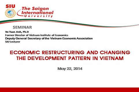 Economic restructuring and changing the development pattern in Vietnam