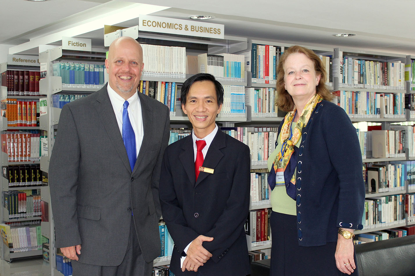 IUK visits and works with The Saigon International University